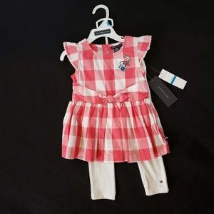 Tommy Hilfiger baby girls top & pant set